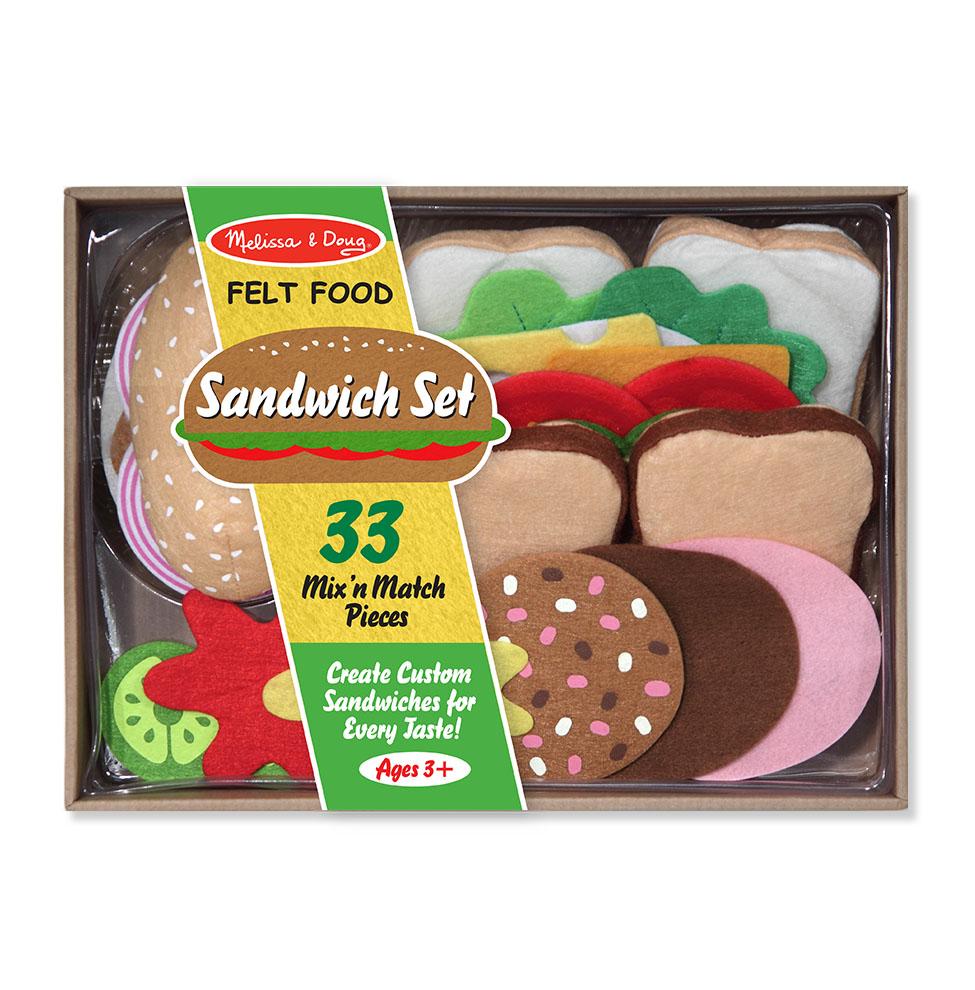 Игровой набор - Готовь и играй - СэндвичАксессуары и техника для детской кухни<br>Игровой набор - Готовь и играй - Сэндвич<br>