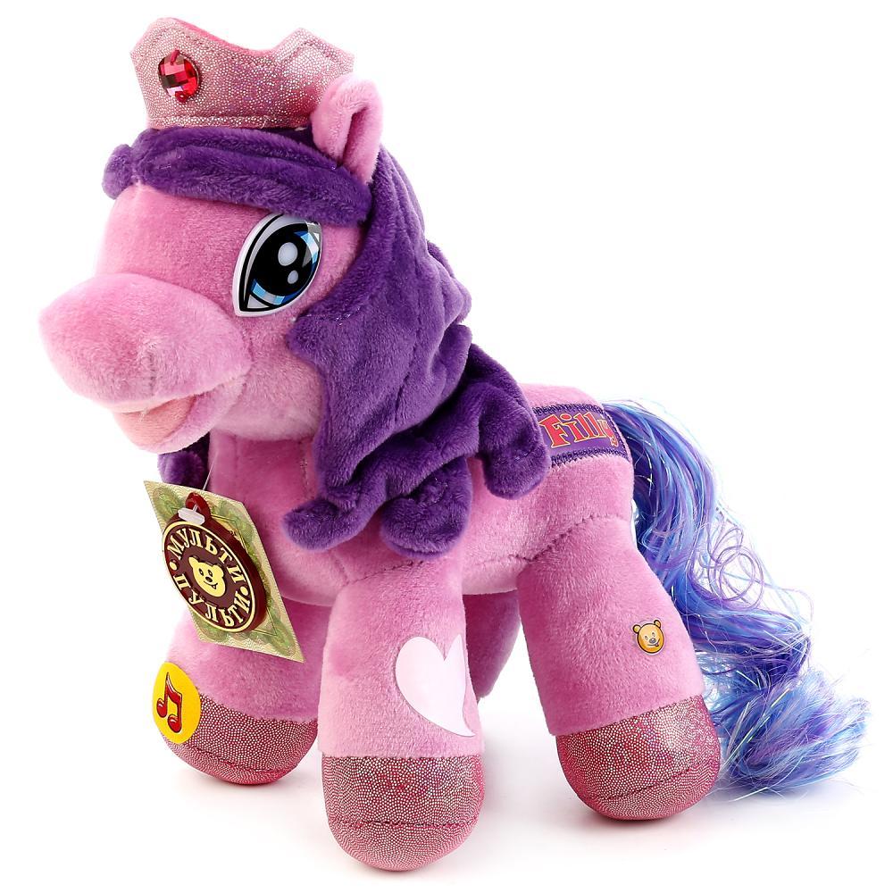 Купить Озвученная мягкая игрушка - Пони Сердечко, 23 см, Мульти-Пульти