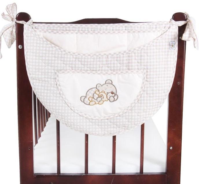 Карман на кроватку Мими – капучиноДекор и хранение<br>Карман на кроватку Мими – капучино<br>