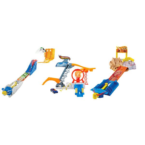 Mattel Hot Wheels. Ассортимент карманных трасс - Автотреки и авторалли, артикул: 155085