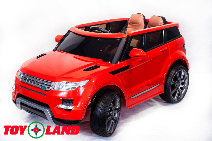 Купить Электромобиль Range Rover красный, ToyLand