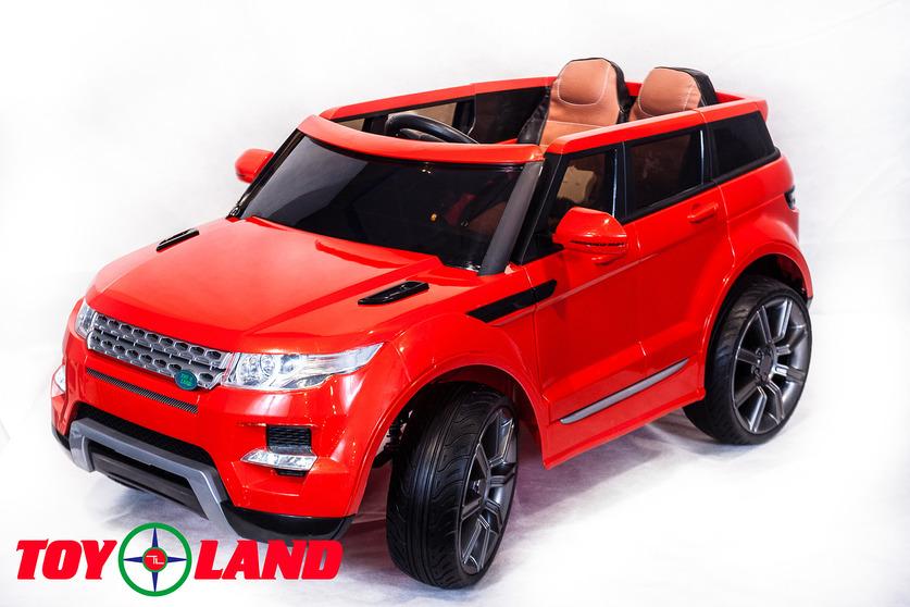 Электромобиль Range Rover красныйЭлектромобили, детские машины на аккумуляторе<br>Электромобиль Range Rover красный<br>
