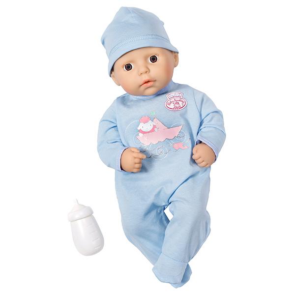 Кукла-мальчик с бутылочкой my first Baby AnnabellКуклы-пупсы Baby Annabell<br>Кукла-мальчик с бутылочкой my first Baby Annabell<br>