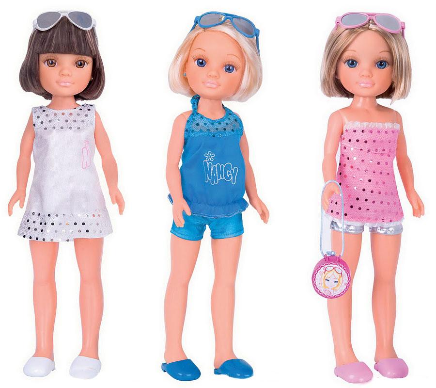 Кукла Нэнси с короткой стрижкой и волшебное зеркальцеПупсы<br>Кукла Нэнси с короткой стрижкой и волшебное зеркальце<br>