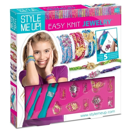 Набор Style Me Up - Вязаные браслетыЮная модница, салон красоты<br>Набор Style Me Up - Вязаные браслеты<br>