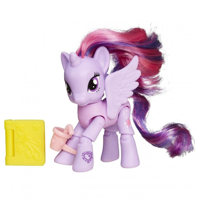 Фигурка из серии My Little Pony  Твайлайт Спаркл с артикуляцией - Моя маленькая пони (My Little Pony), артикул: 174097