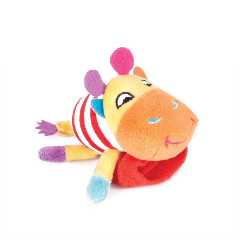 Купить Игрушка-погремушка на ручку - Жираф Спот, Happy Snail
