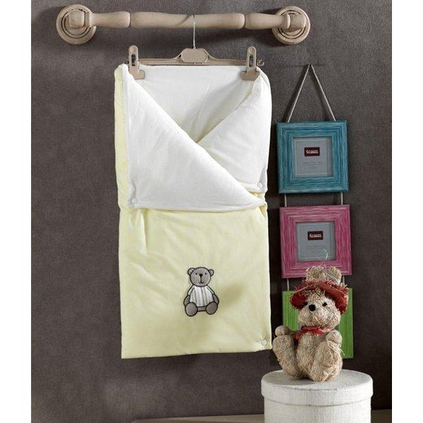 Трансформер одеяло-конверт Little Bear из 100% хлопка с наполнением из полиэстера
