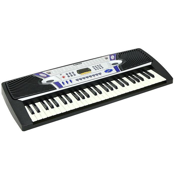 Детский синтезатор с микрофоном, 54 клавишиСинтезаторы и пианино<br>Детский синтезатор с микрофоном, 54 клавиши<br>