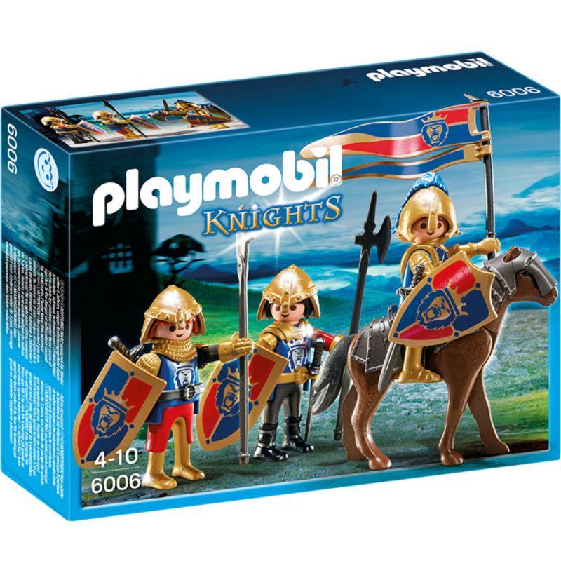 Купить Игровой набор из серии Рыцари: Королевские рыцари Львы, Playmobil