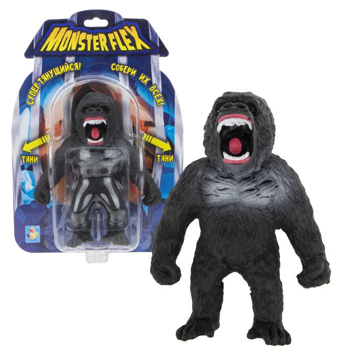 Купить Тянущаяся фигурка из серии Monster Flex Горилла, блистер, 15 см, 1TOY