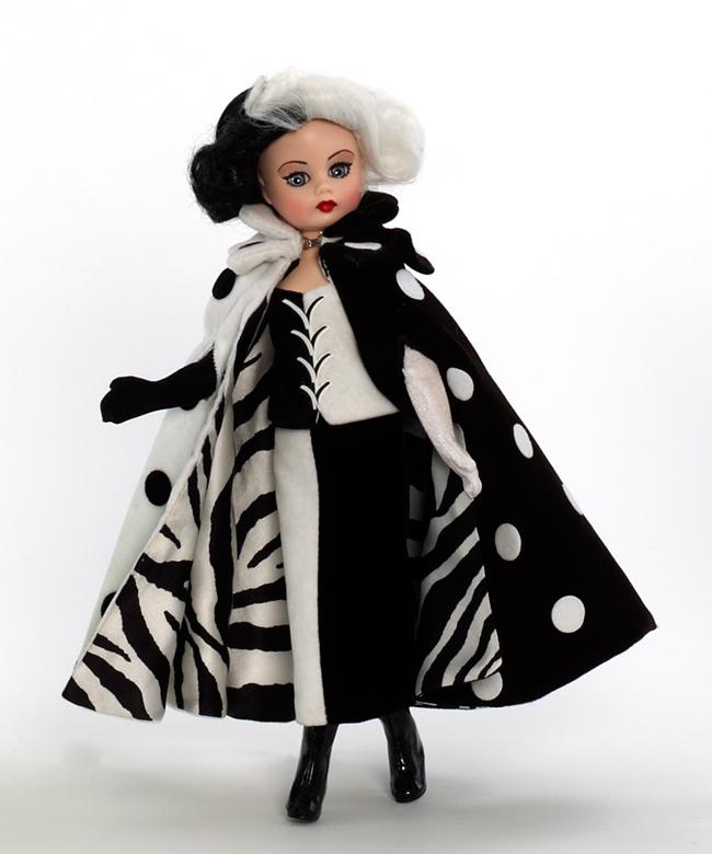 Кукла - Круэлла де Виль, 25 смКуклы Madame Alexander<br>Кукла - Круэлла де Виль, 25 см<br>