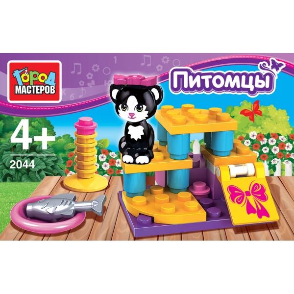 Конструктор из серии Питомцы: Кошечка
