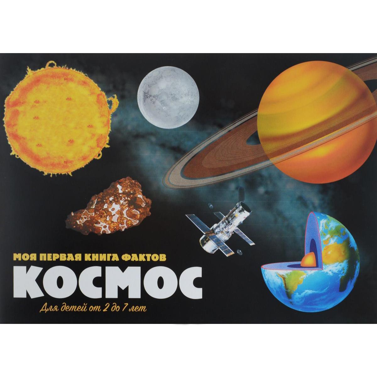 Книга - Моя первая книга фактов с наклейками - КосмосРазвивающие наклейки<br>Книга - Моя первая книга фактов с наклейками - Космос<br>