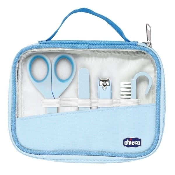 Набор для ухода за руками, для мальчиков, от 0 мес., голубой - Ванная комната и гигиена, артикул: 168722