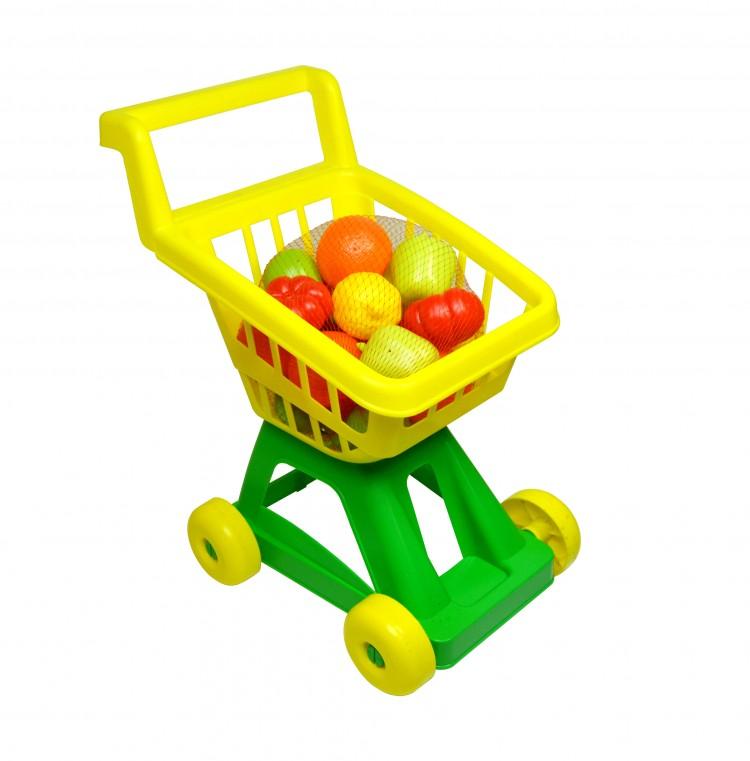 Спектр Тележка для супермаркета с набором овощей и фруктов