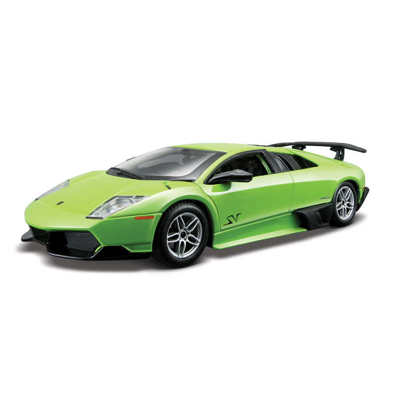 Коллекционная металлическая сборная машинка Lamborghini Murcielago LP670-4 SVLamborghini<br>Коллекционная металлическая сборная машинка Lamborghini Murcielago LP670-4 SV<br>