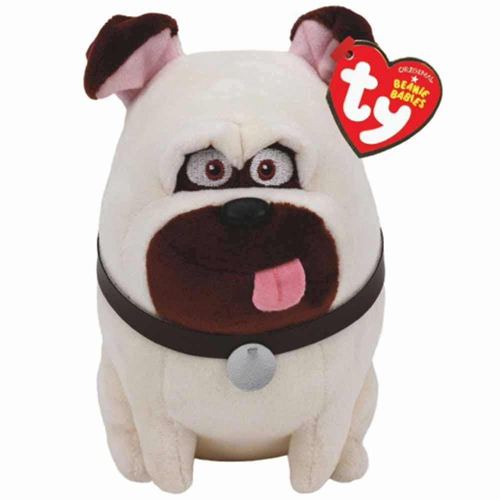 Мягкая игрушка - Тайная жизнь домашних животных - мопс МелСобаки<br>Мягкая игрушка - Тайная жизнь домашних животных - мопс Мел<br>