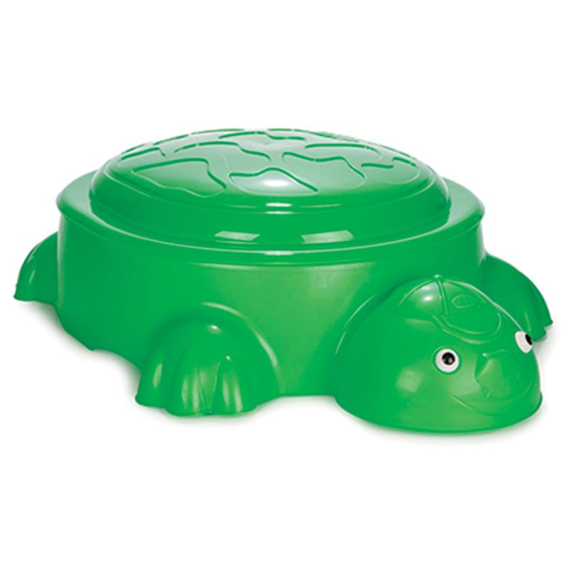 Песочница  Черепаха с крышкой - Детские песочницы, артикул: 160394