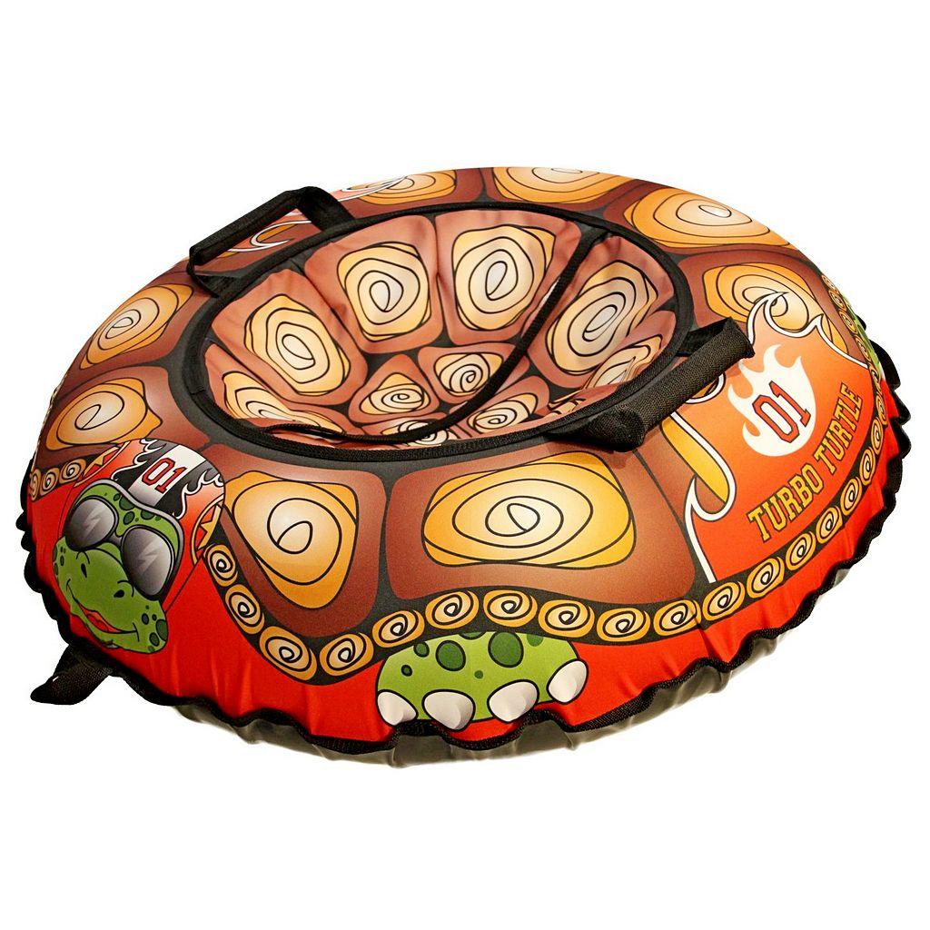 Купить Санки надувные Тюбинг Эксклюзив - Турбо черепаха, автокамера, диаметр 100 см, RT