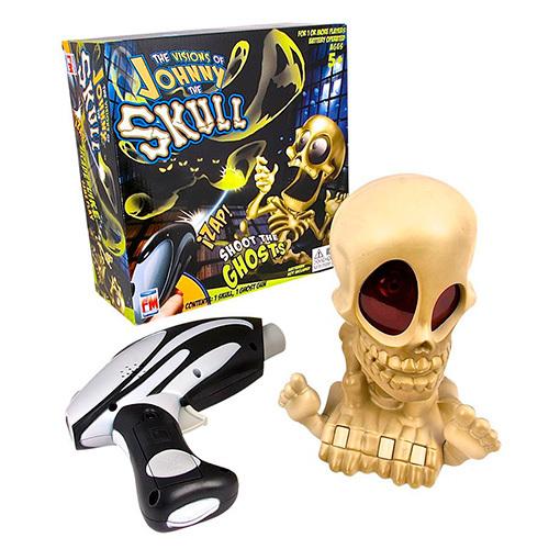 Интерактивная игрушка-тир «Проектор Джонни Череп с бластером»Johnny The Skull (Джонни Череп)<br>Интерактивная игрушка-тир «Проектор Джонни Череп с бластером»<br>