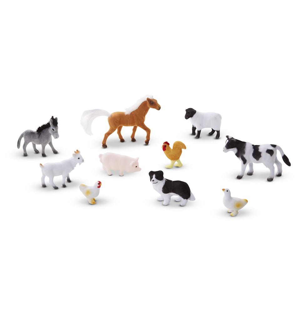 Фигурки животных из серии Классические игрушки – ФермаНа ферме (Farm life)<br>Фигурки животных из серии Классические игрушки – Ферма<br>