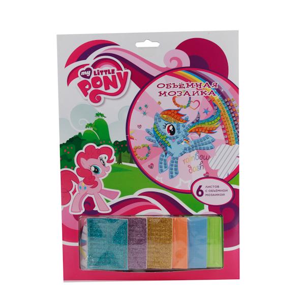 Набор для творчества My Little Pony - Объемная мозаикаМоя маленькая пони (My Little Pony)<br>Набор для творчества My Little Pony - Объемная мозаика<br>
