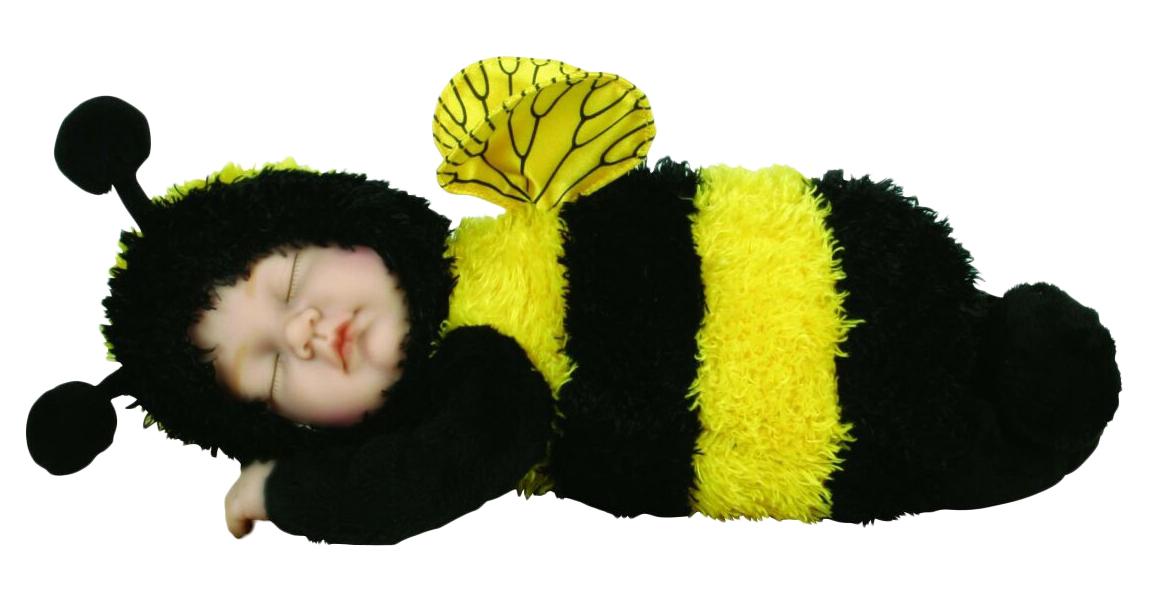 Кукла из серии «Детки-пчелки», 30 см.Куклы детки ANNE GEDDES<br>Кукла из серии «Детки-пчелки», 30 см.<br>