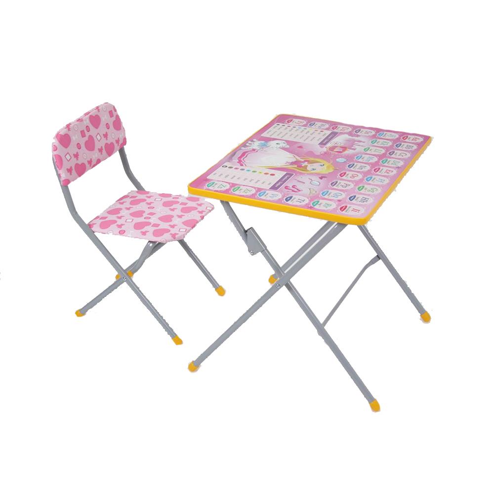 Комплект детской мебели Фея Досуг 301, дизайн – Принцесса
