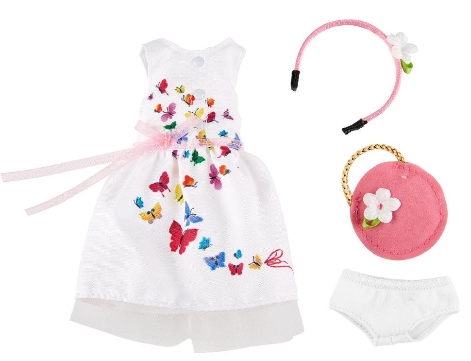 Одежда для праздника с аксессуарами для куклы София Kruselings, 23 см.