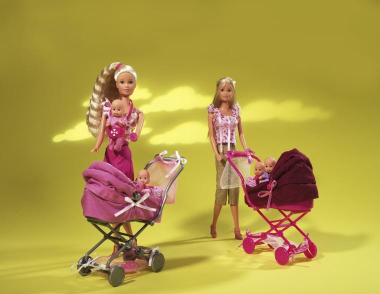 Штеффи с коляской, наборКуклы Steffi (Штеффи)<br>Штеффи с коляской, набор<br>
