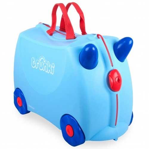 Чемодан на колесах Trunki Джоржд, голубой