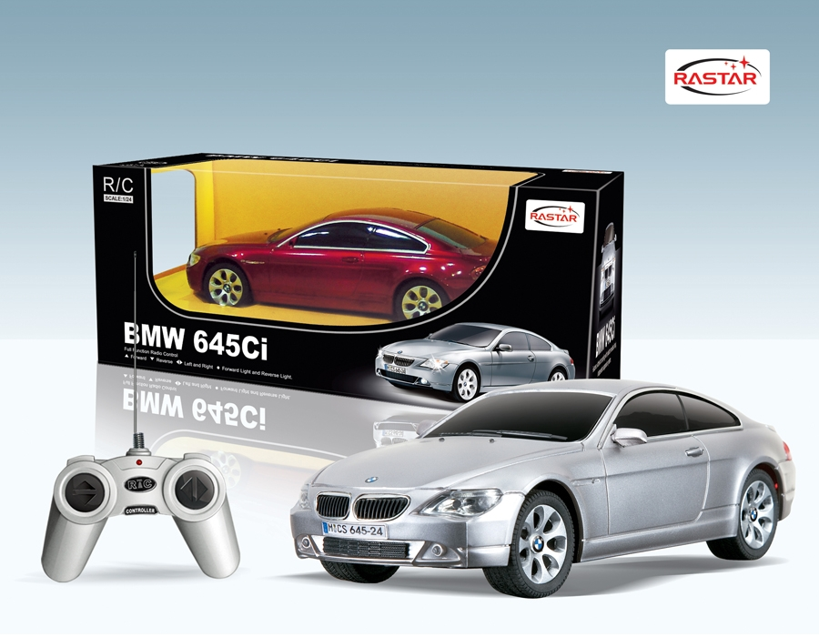 Радиоуправляемая машинка  BMW 645Ci, масштаб 1:24 - Радиоуправляемые игрушки, артикул: 99629