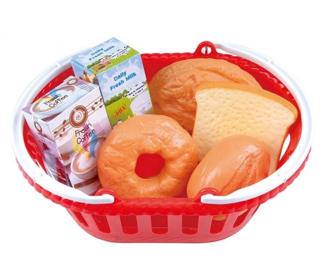 Игровой набор - Корзина с выпечкойАксессуары и техника для детской кухни<br>Игровой набор - Корзина с выпечкой<br>