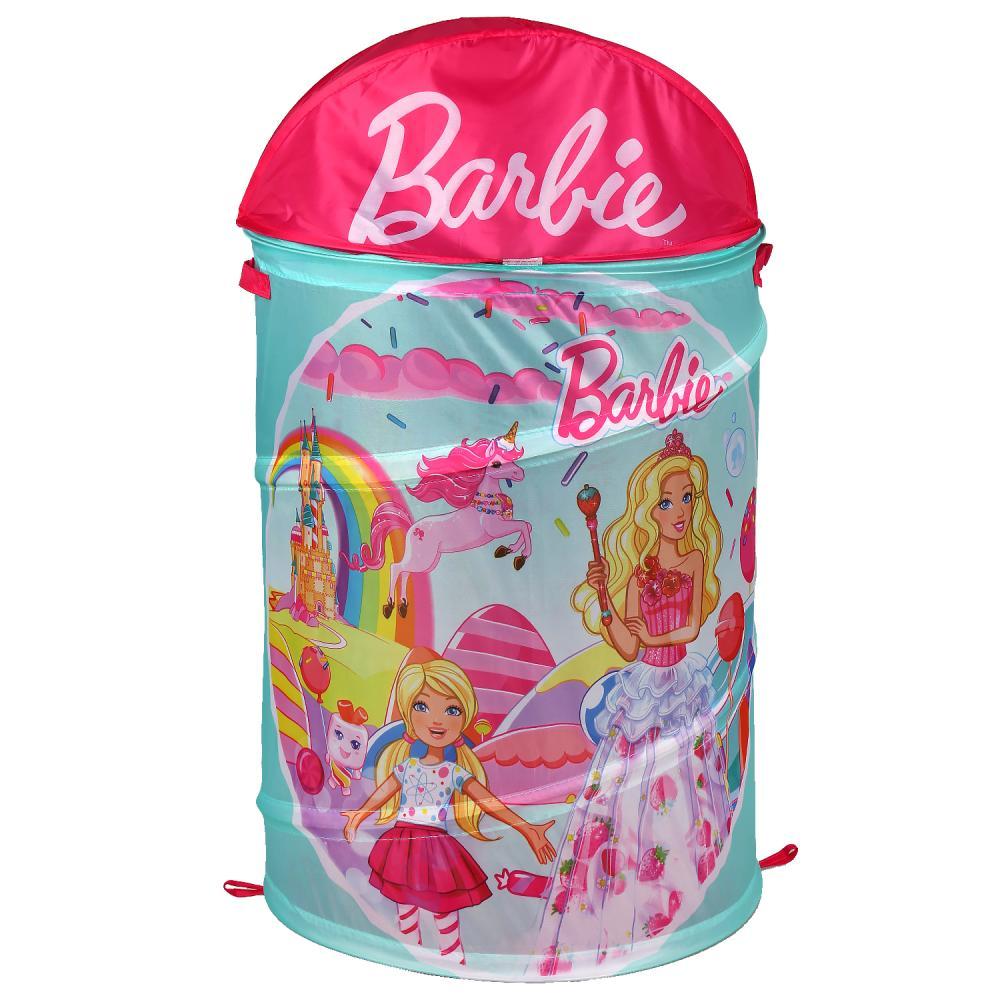 Купить Корзина для игрушек из серии Барби, 43 х 60 см, Играем вместе