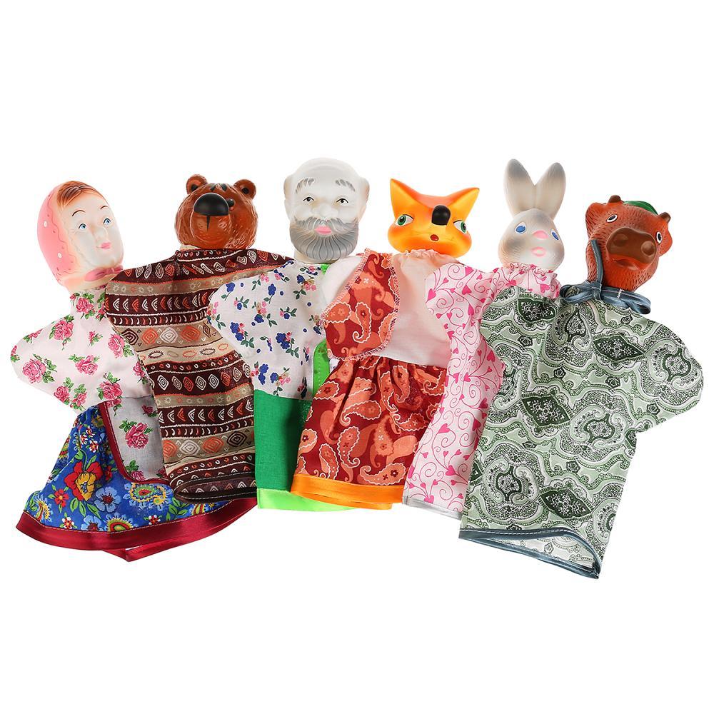 Купить Кукольный театр - Соломенный Бычок, с 6 куклами, Кудесники