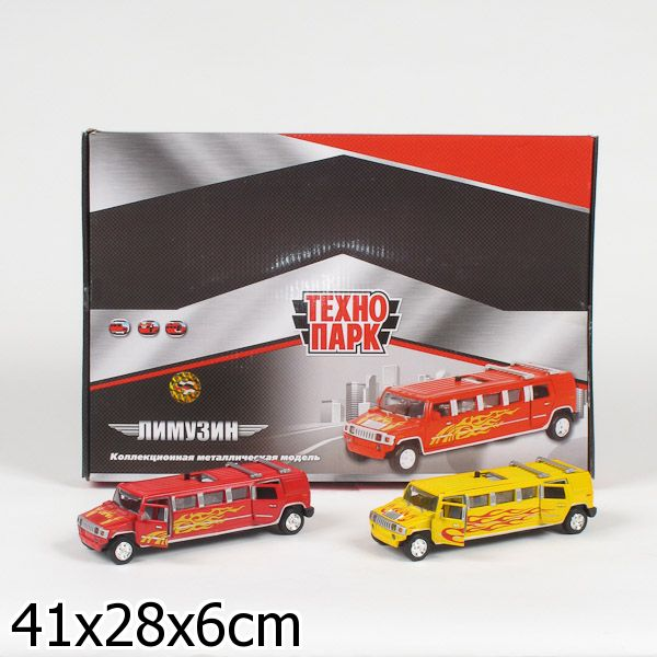 Инерционная модель лимузина Hummer, свет, звукHummer<br>Инерционная модель лимузина Hummer, свет, звук<br>