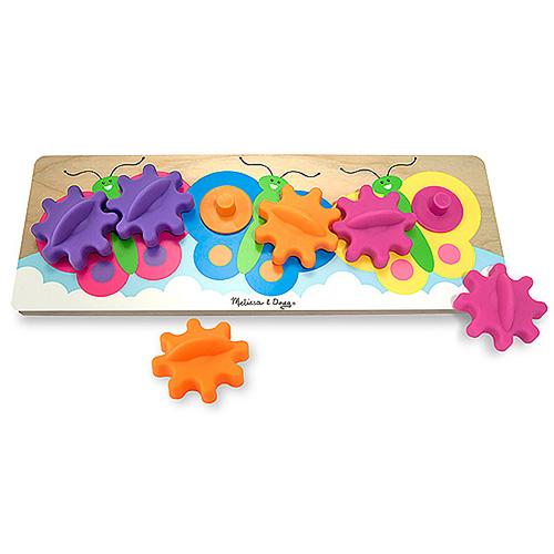 Развивающая игрушка Бабочки с шестеренками из серии