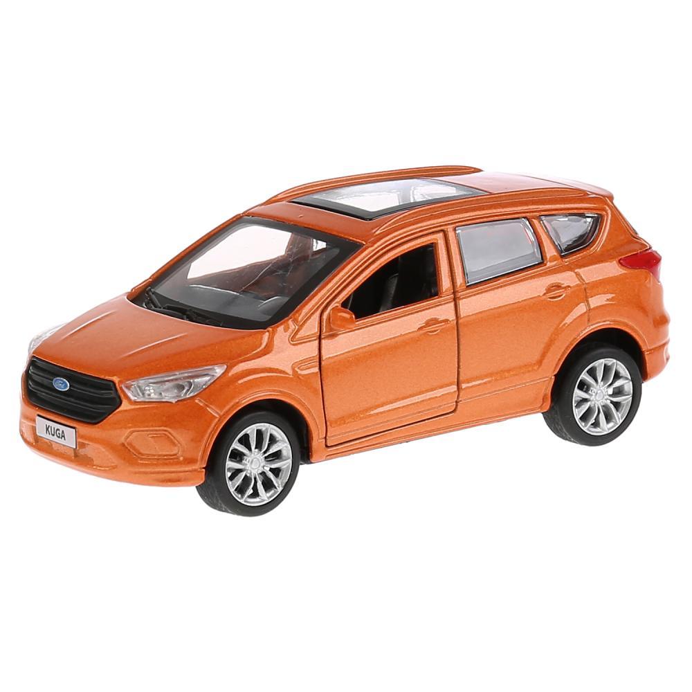 Купить Машина инерционная металлическая - Ford Kuga, 12 см, открываются двери, цвет золотой, Технопарк