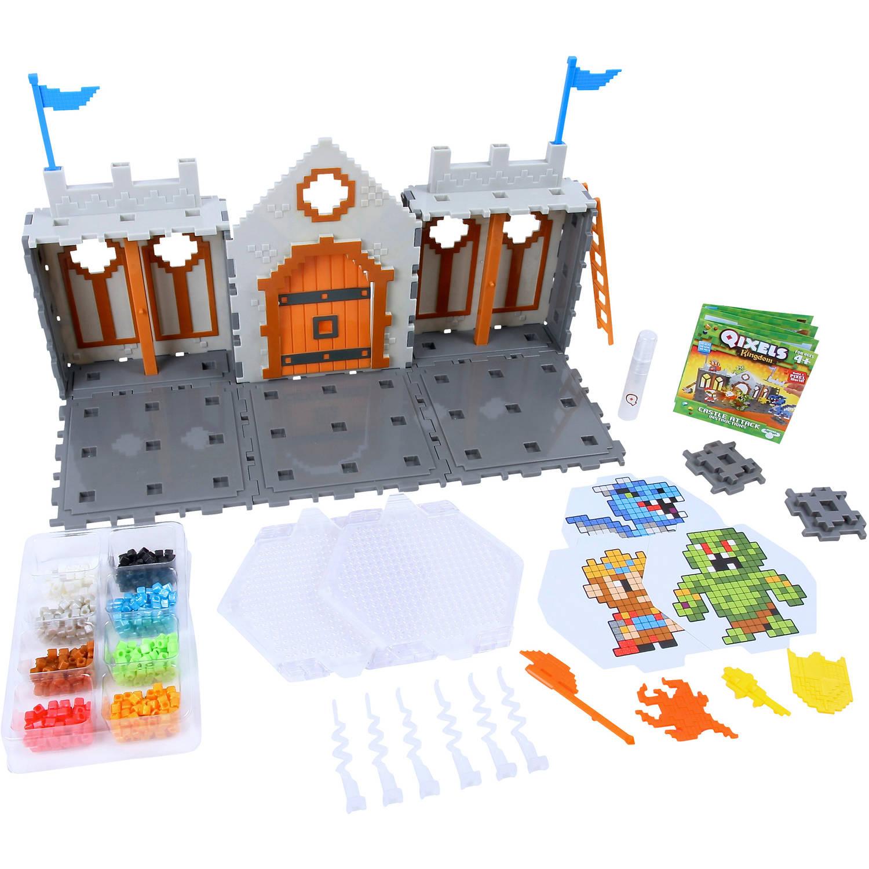 Набор для творчества - Королевство. Захват замка. QixelsДетский 3D принтер QIXELS<br>Набор для творчества - Королевство. Захват замка. Qixels<br>