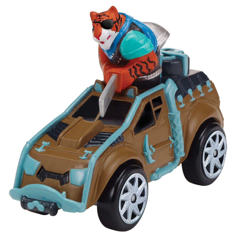 Машинка Черепашки-ниндзя - Тигриный коготь на Сафари-джипе, 7смЧерепашки Ниндзя<br>Машинка Черепашки-ниндзя - Тигриный коготь на Сафари-джипе, 7см<br>