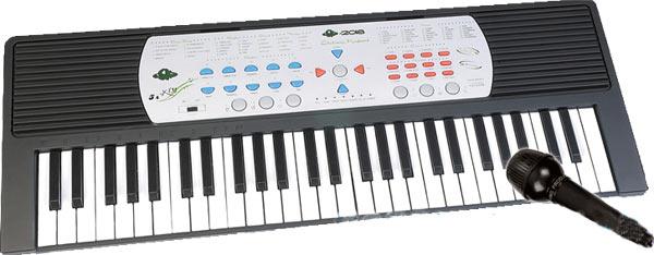 Детский синтезатор из серии DoReMi с микрофоном, 54 клавишиСинтезаторы и пианино<br>Детский синтезатор из серии DoReMi с микрофоном, 54 клавиши<br>