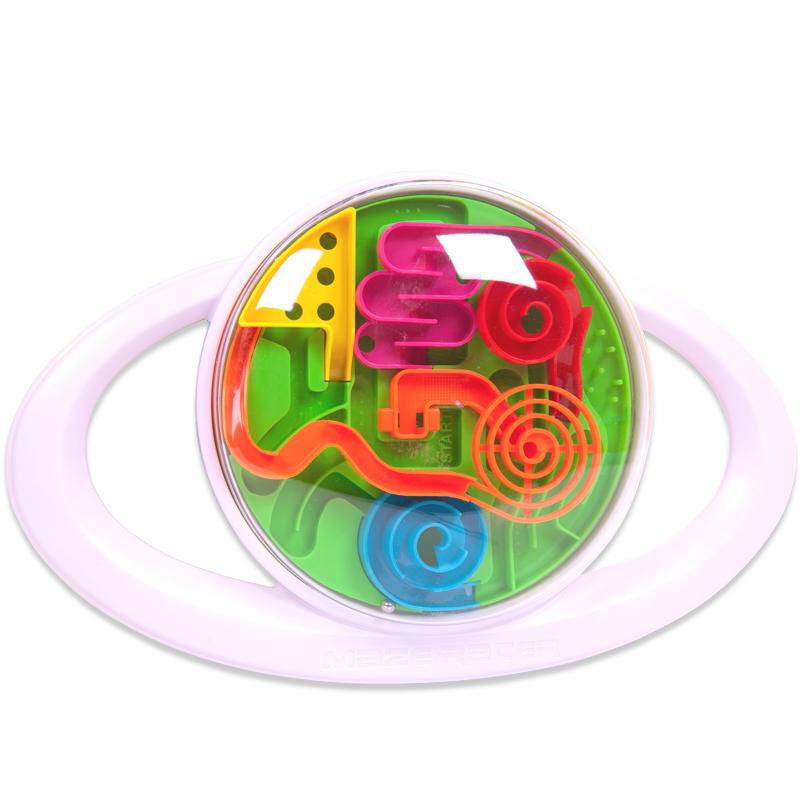 Шар интеллектуальный 3D в диске, диаметр лабиринта 15 смШар лабиринт Perplexus<br>Шар интеллектуальный 3D в диске, диаметр лабиринта 15 см<br>