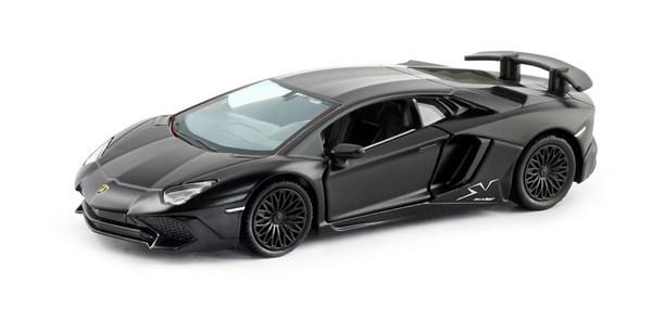 Купить Металлическая машина - Lamborghini Aventador LP 750-4 Superveloce, 1:32, черный матовый, RMZ City