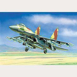 Модель для склеивания - Истребитель Су-35Модели самолетов для склеивания<br><br>