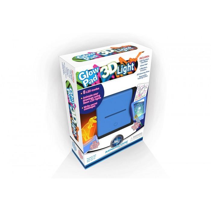 Планшет светящийся 3D, голубойМольберты<br>Планшет светящийся 3D, голубой<br>