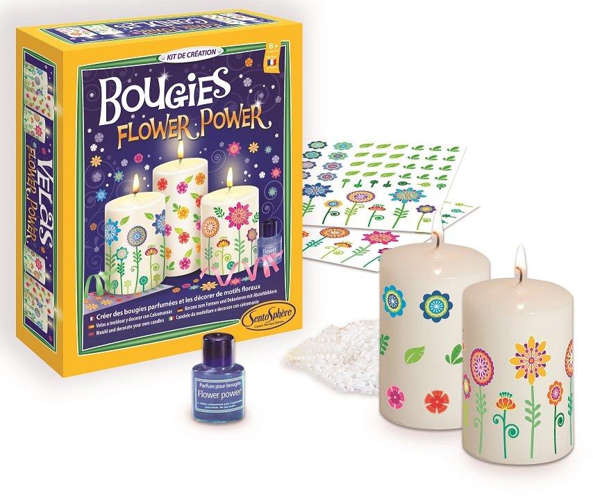 Набор для изготовления свечей - Дизайн цветыСоздание гелевых свечей<br>Набор для изготовления свечей - Дизайн цветы<br>