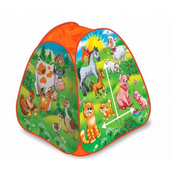 Детская игровая палатка - Веселая ферма, в сумкеДомики-палатки<br>Детская игровая палатка - Веселая ферма, в сумке<br>