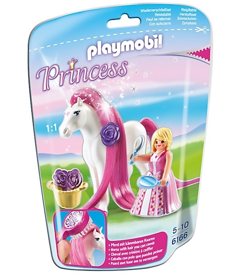 Купить Игровой набор - Принцессы: Принцесса Розали с лошадкой, Playmobil