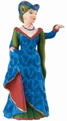Средневековая леди в синем - Замки, рыцари, крепости, пираты, артикул: 28887